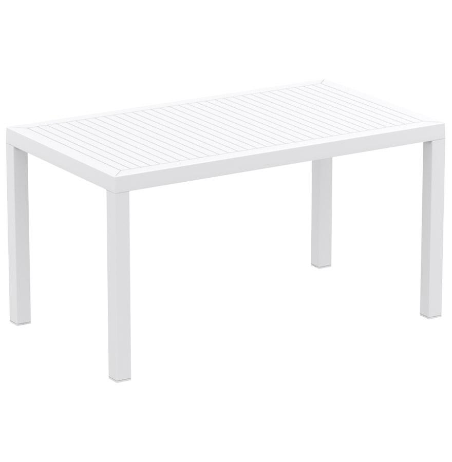 les concepteurs artistiques table jardin blanche plastique. Black Bedroom Furniture Sets. Home Design Ideas