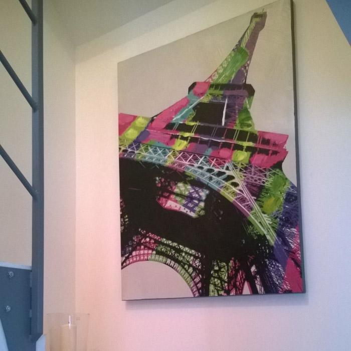 EIFFEL schilderij - Alterego Design - Foto 1