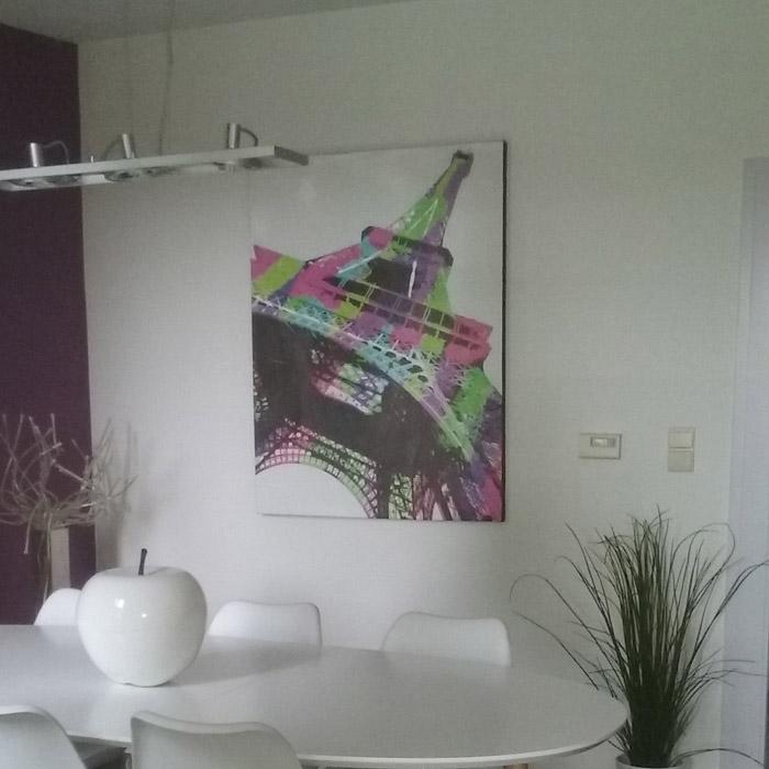 EIFFEL schilderij - Alterego Design - Foto 2
