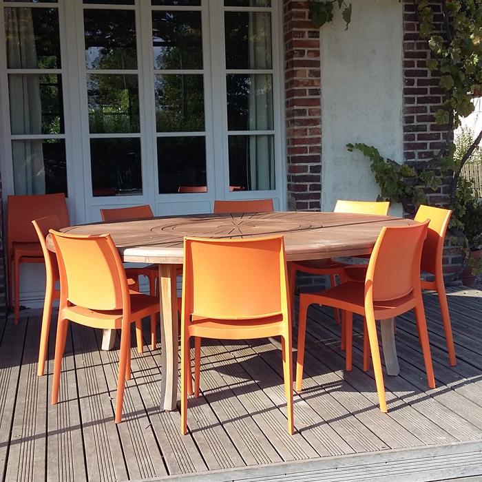 chaise design enzo noire chaise moderne. Black Bedroom Furniture Sets. Home Design Ideas