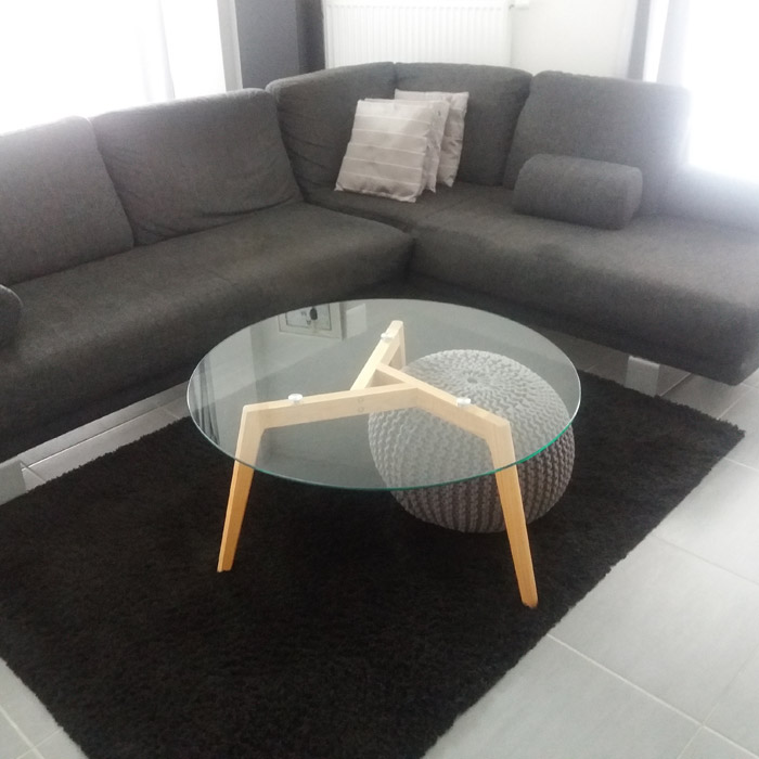 Table de salon GLAZY - Alterego Design - Photo 1