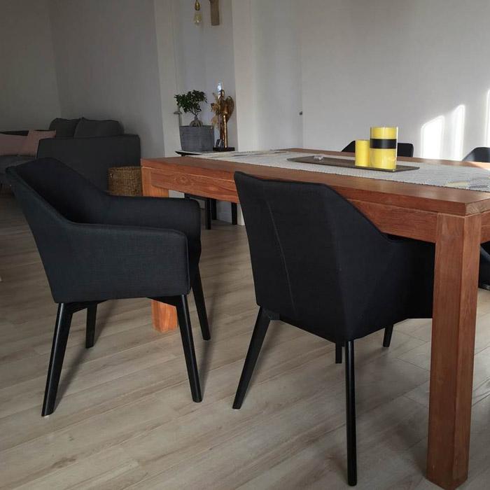 NANO stoel met armleuningen - Alterego Design - Foto 1