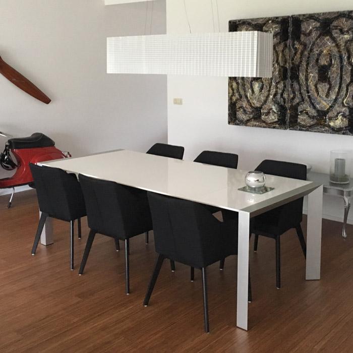 NANO stoel met armleuningen - Alterego Design - Foto 3