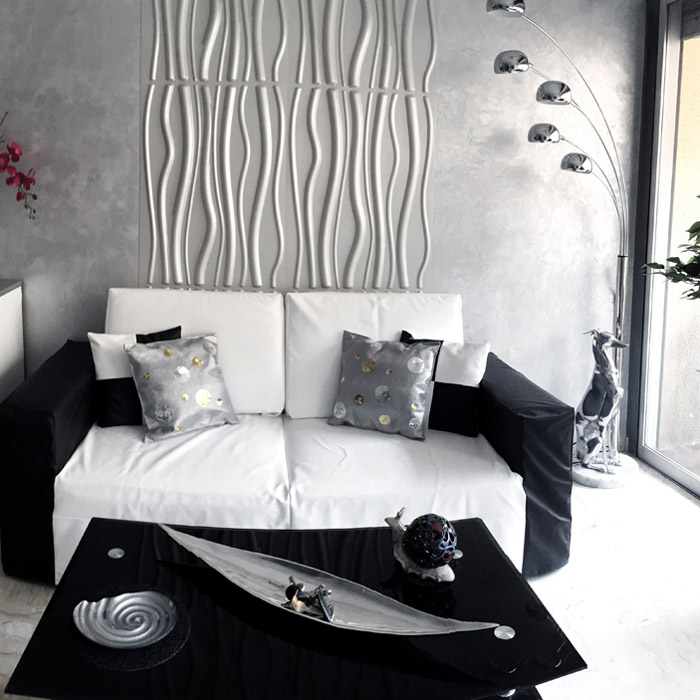 Lampadaire FIVE BOWS - Alterego Design - Photo 2