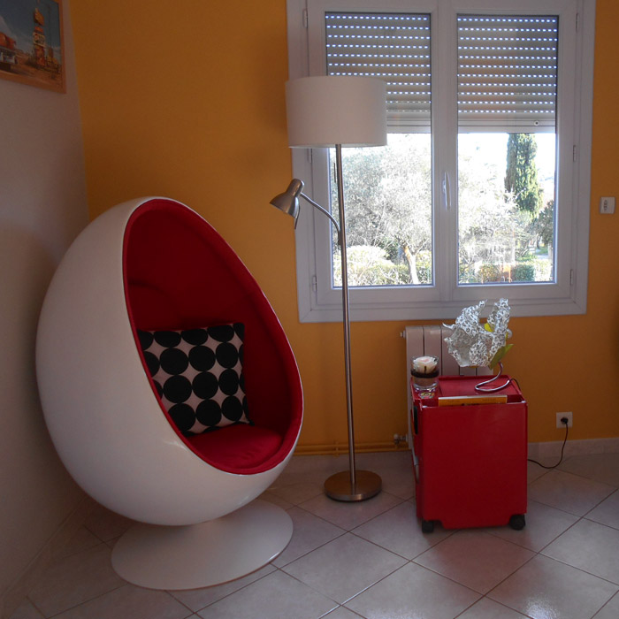 Fauteuil oeuf COCOON - Alterego Design - Photo 9