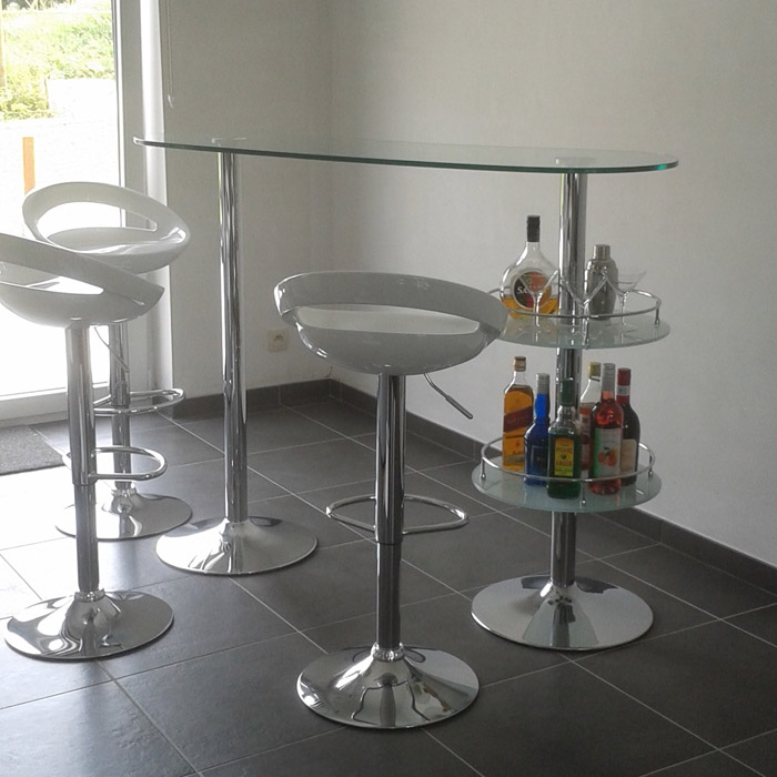 Tabouret COMET - Alterego Design - Photo 8