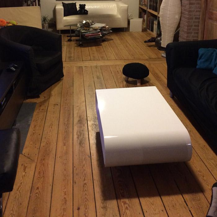DONA lage tafel op wieltjes - Foto 1