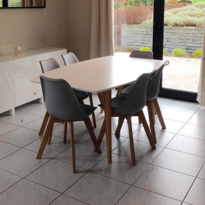 Table a diner ESKIMO - Alterego Design - Photo 1
