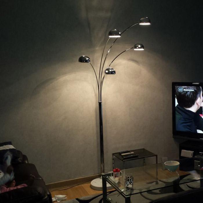 Lampadaire FIVE BOWS - Alterego Design - Photo 1