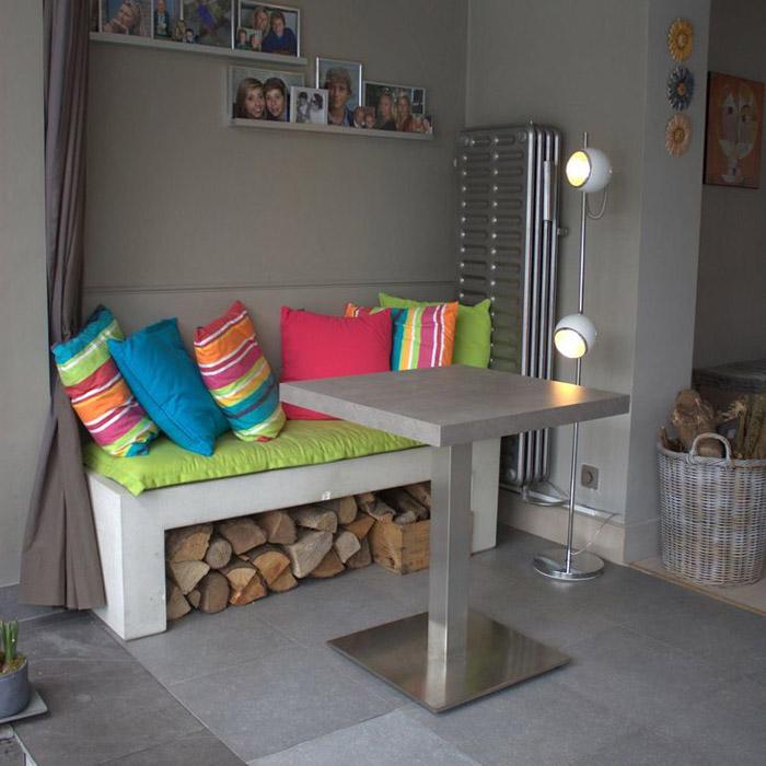 Pied de table KARO 75 - Alterego Design - Photo 2