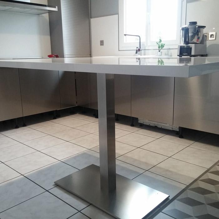 Pied de table KARO XL 75 - Alterego Design - Photo 2
