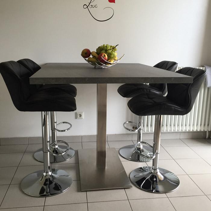 Pied de table KARO XL 90 - Alterego Design - Photo 1
