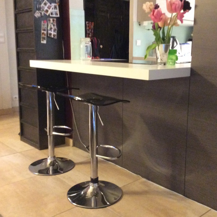 Tabouret reglable LEO - Alterego Design - Photo 4