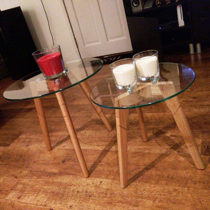Tables gigognes LOVYOU - Alterego Design - Photo 2