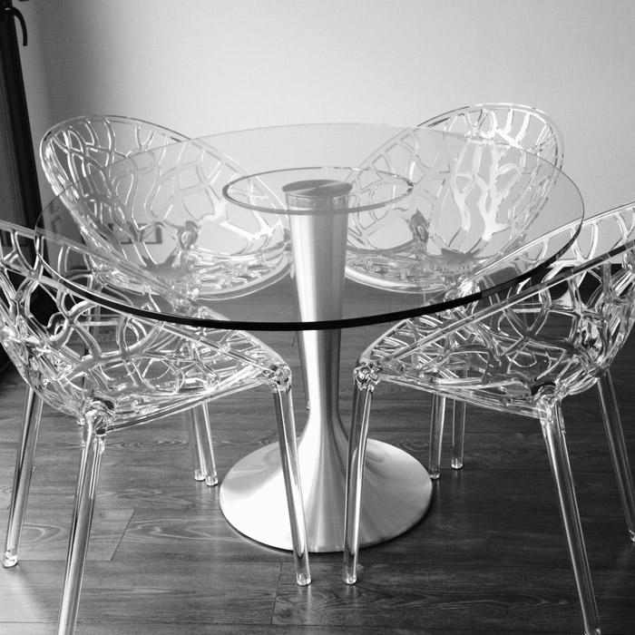 Table ronde MASKARA - Alterego Design - Photo 1