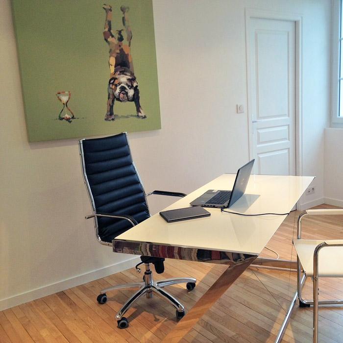 Fauteuil de bureau MILAN - Alterego Design - Photo 5
