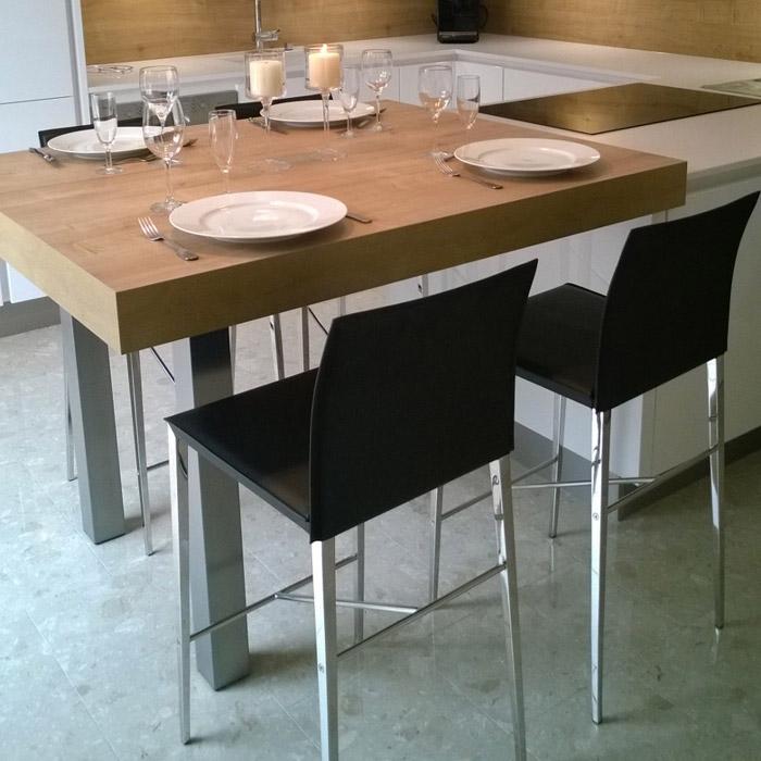 OSKAR halfhoge kruk - Alterego Design - Foto 2