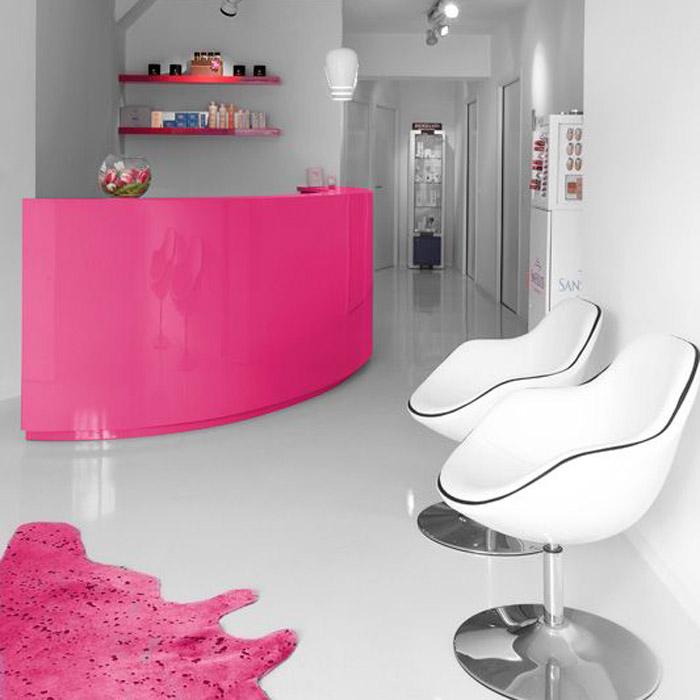 Zwarte design zetel / -stoel KOK met draaibare zitschaal