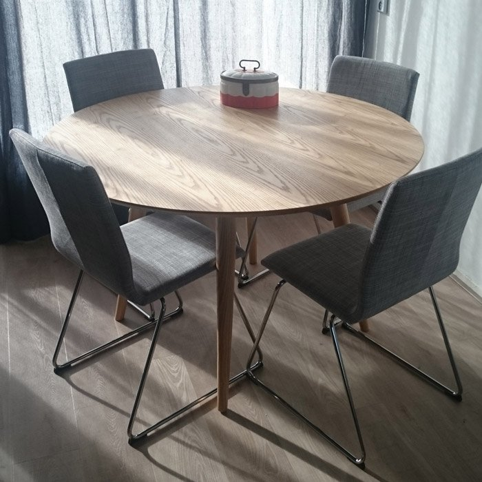 Table a diner ronde SWEDY - Alterego Design - Photo 1