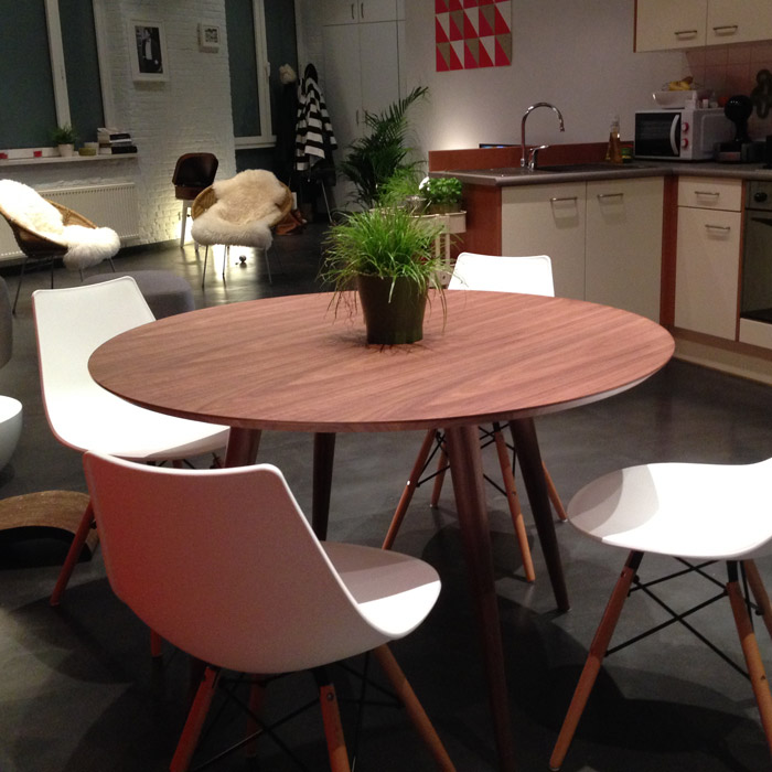 Table a diner ronde SWEDY - Alterego Design - Photo 2