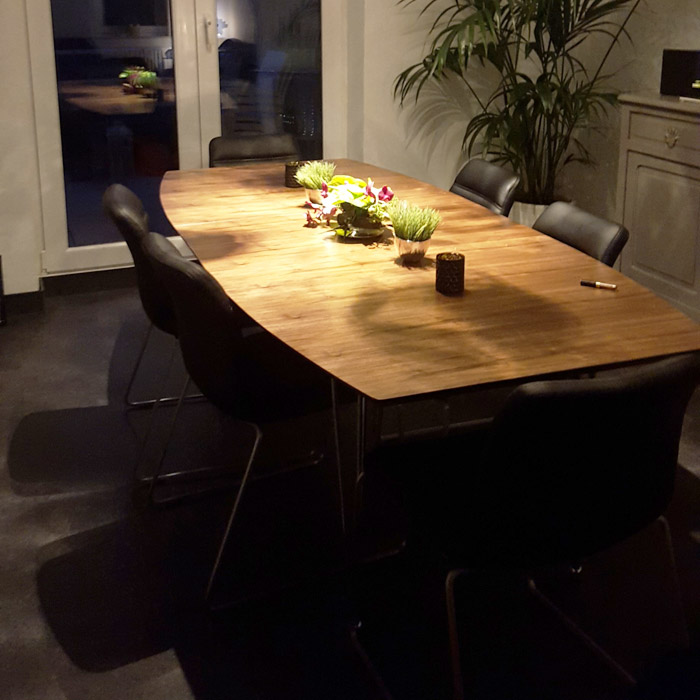 Table a diner XTEND - Alterego Design - Photo 4