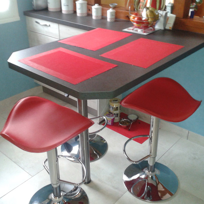 Tabouret de bar/cuisine WAVE - Alterego Design - photo 5