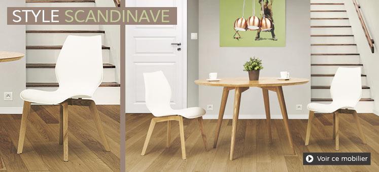 Meubes de salle à manger scandinave - Alterego Design Belgique