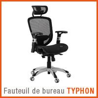 Fauteuil de bureau Alterego - Fauteuil TYPHON