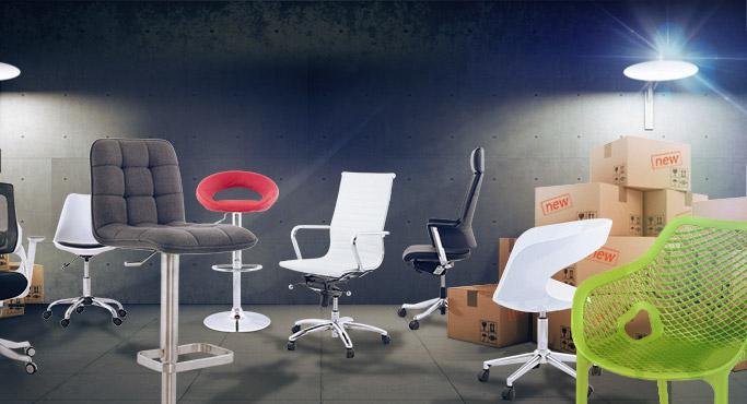 Nouveautes Alterego - meuble de jardin, fauteuils de bureau et tabourets