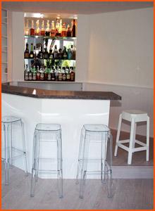 Bar de salon classique - Alterego Design