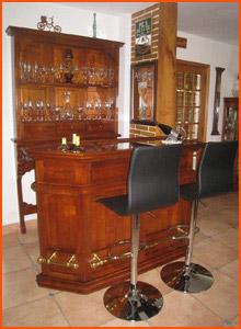 Bar de salon rustique - Alterego Design